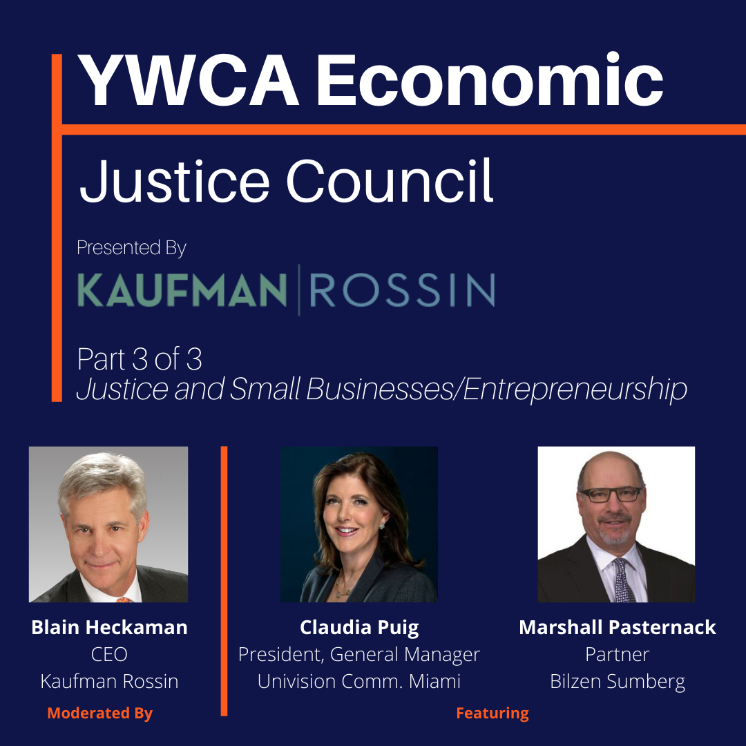 EJC Virtual Panel: Justice and Small Businesses/Entrepreneurship