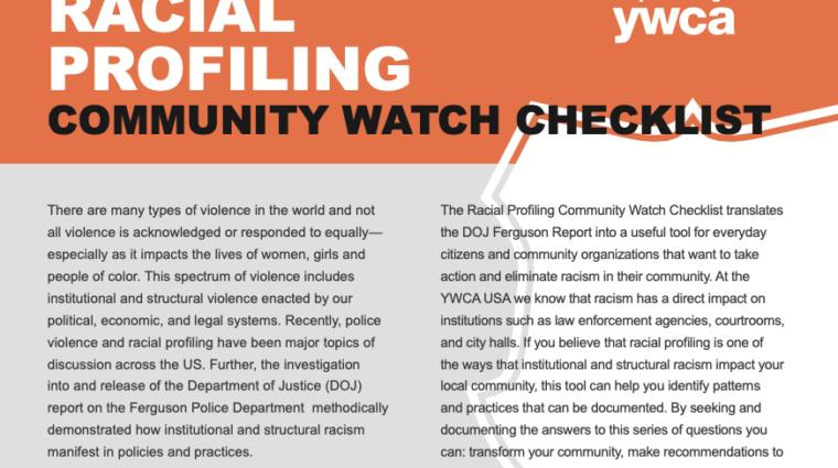 ywsf racial profiling