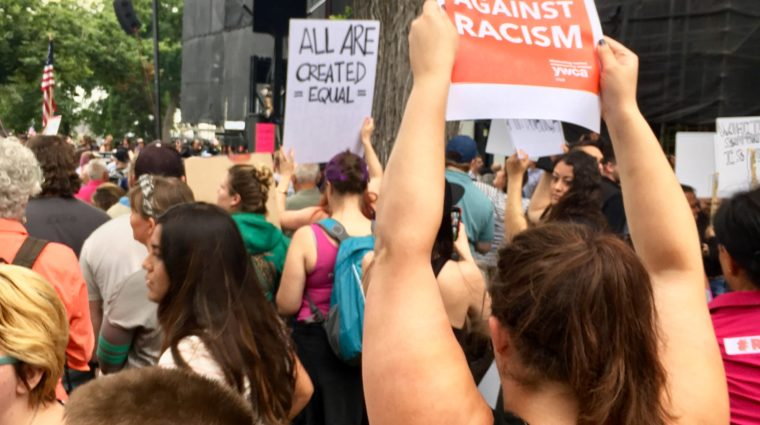 stand against racism rally